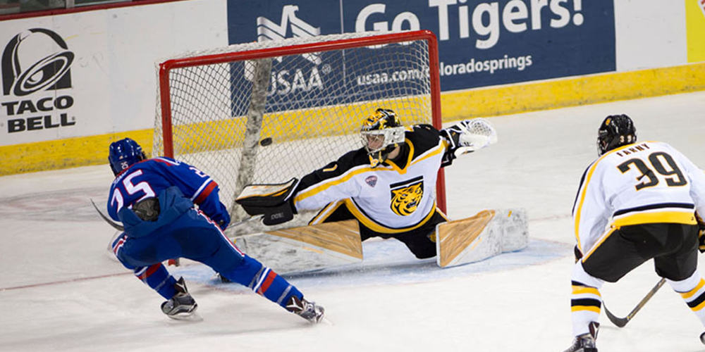 NCAA: Sweep - River Hawks Post 4-0 Shutout At Colorado College In Series Finale