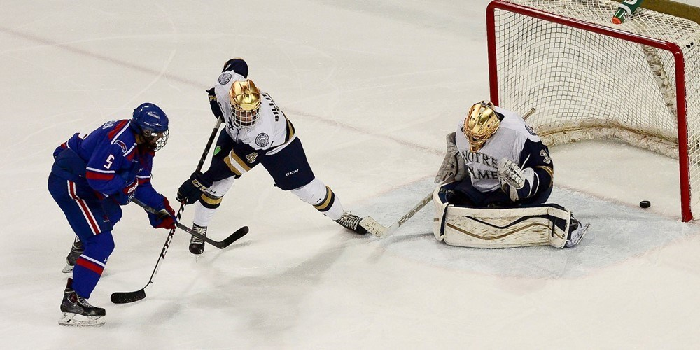 River Hawks set to host Notre Dame in Hockey East