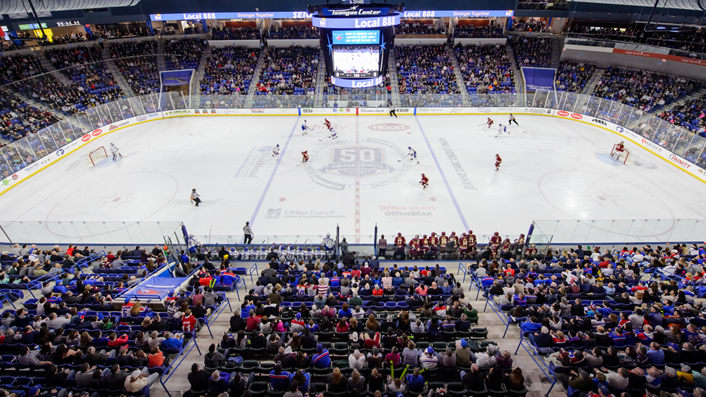 River Hawks Lead Hockey East In Attendance For 2nd Straight Year
