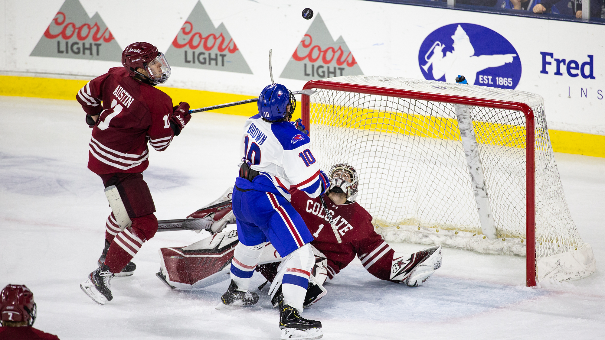 River Hawks skate to scoreless tie in series finale vs. Colgate