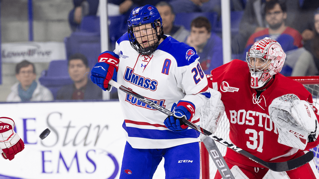 Umass Lowell Christmas Break 2020 No. 12 River Hawks battle with Boston University in home and home
